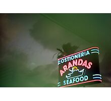 Mexican Seafood Night Photographic Print