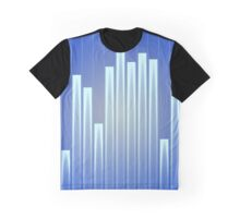Graphic equaliser audio levels Graphic T-Shirt