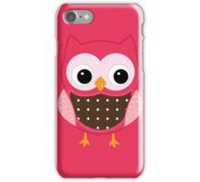 Pink Owl iPhone Case/Skin