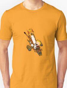 captain calvin and hobbe Unisex T-Shirt