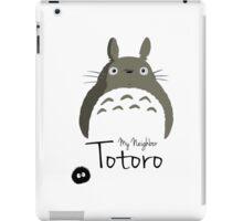 totoro neighborg iPad Case/Skin