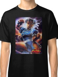 Chun-Li Street Fighter 2 Fan items! Classic T-Shirt