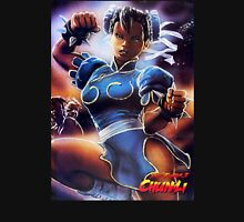 Chun-Li Street Fighter 2 Fan items! Unisex T-Shirt