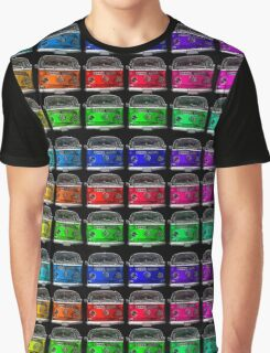MULTI COLORS VW Combi Graphic T-Shirt