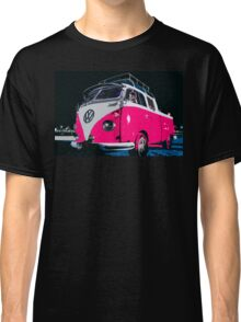 VW camper Pinky  Classic T-Shirt
