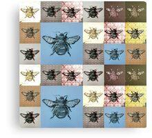 Honeybees #1 Canvas Print