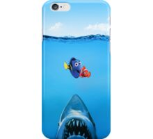 Shark Attack Nemo iPhone Case/Skin