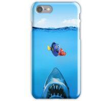 Shark Attack Nemo iPhone Case/Skin