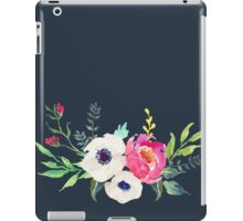 Anemone Peony Watercolor Bouquet iPad Case/Skin