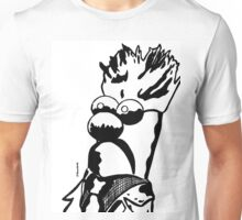 Black and White Beaker by JTownsend Unisex T-Shirt