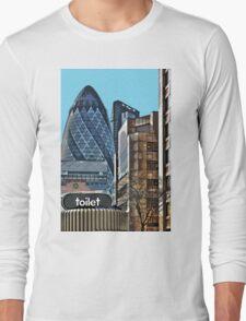 City toilet Long Sleeve T-Shirt