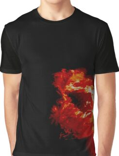 Fire Dragon in the Sun Graphic T-Shirt
