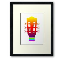 Guitar of Peace Framed Print