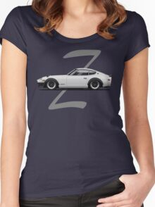 Datsun 280Z (white) Women's Fitted Scoop T-Shirt