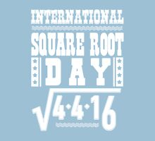 International Square Root Day Womens Fitted T-Shirt