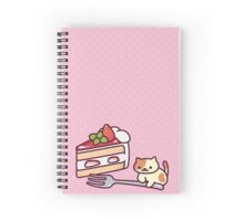 peaches!! Spiral Notebook