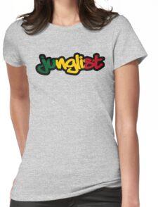 Rasta Junglist Womens Fitted T-Shirt