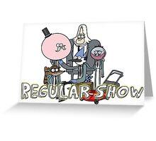 Regular Show Greeting Card
