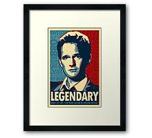 How I Met Your Mother - Barney Framed Print