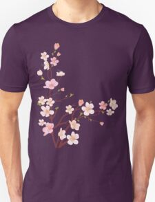 Pink Sakura Cherry Blossoms T-Shirt