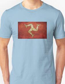 Isle of man flag Unisex T-Shirt