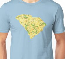 South Carolina Flowers Unisex T-Shirt