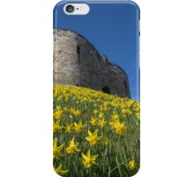 Clifford's Tower, York, UK iPhone Case/Skin