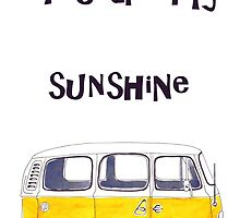 You are my sunshine Kombi by bridgetdav