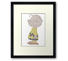 Charlie Brown Framed Print