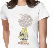 Charlie Brown Womens Fitted T-Shirt