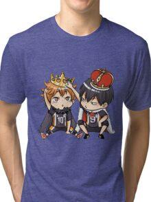 Chibi 1 Haikyuu!! Anime Tri-blend T-Shirt