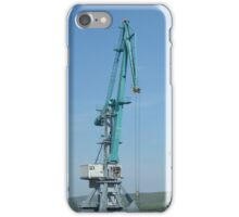 harbor cranes iPhone Case/Skin