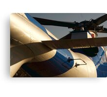 Agusta A109S Helicopter Sunrise Canvas Print