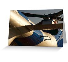 Agusta A109S Helicopter Sunrise Greeting Card
