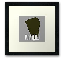 W.W.M.R.D Silhouette  Framed Print