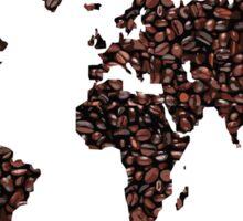 COFFEE MAPS Sticker