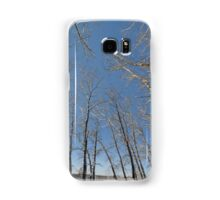 river water trees snow Samsung Galaxy Case/Skin