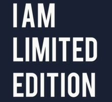 I am limited edition One Piece - Long Sleeve