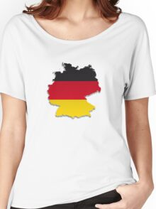 Map of Germany 4 Women's Relaxed Fit T-Shirt