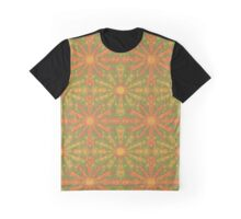 """""""Sunshine"""" abstract pattern in orange and yellow tones Graphic T-Shirt"""