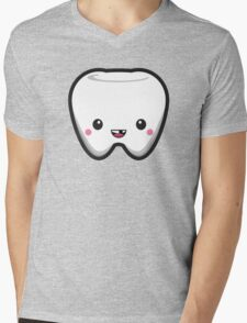 Toothless Tooth Mens V-Neck T-Shirt