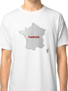 Map of France 3 Classic T-Shirt