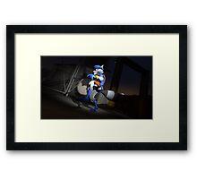 Cooper Cat Framed Print