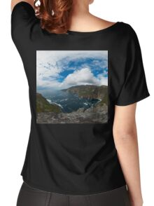 Bunglas - Highest Sea Cliffs in Europe? Women's Relaxed Fit T-Shirt