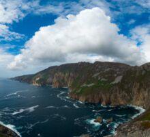 Bunglas - Highest Sea Cliffs in Europe? Sticker