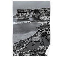 Azure Window Gozo Malta Poster