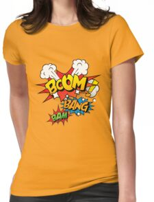 Boom Womens Fitted T-Shirt
