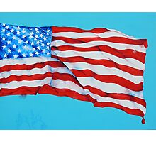 American Flag #5 Photographic Print