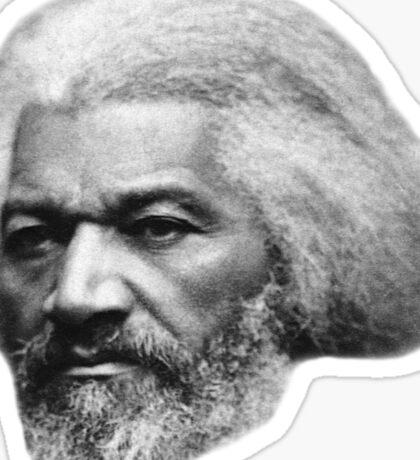 Frederick Douglass Older best quality Sticker