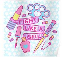 Girl Fighter Poster